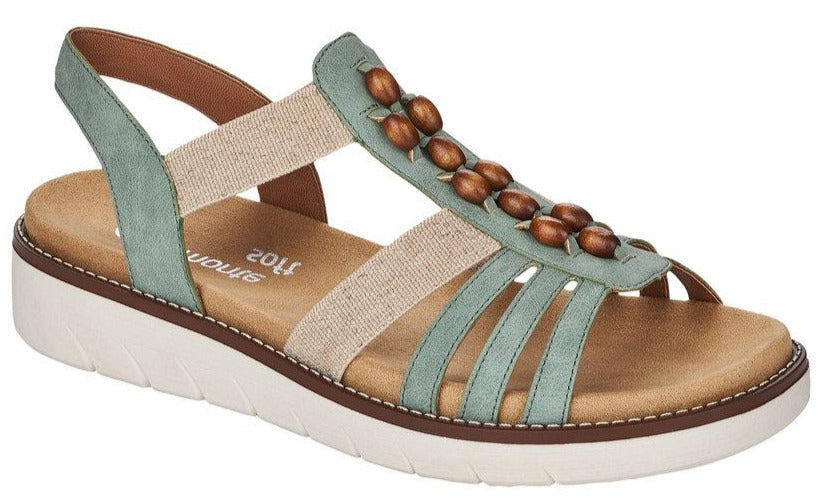 Remonte - D2065 Peppermint/Cream Sandals