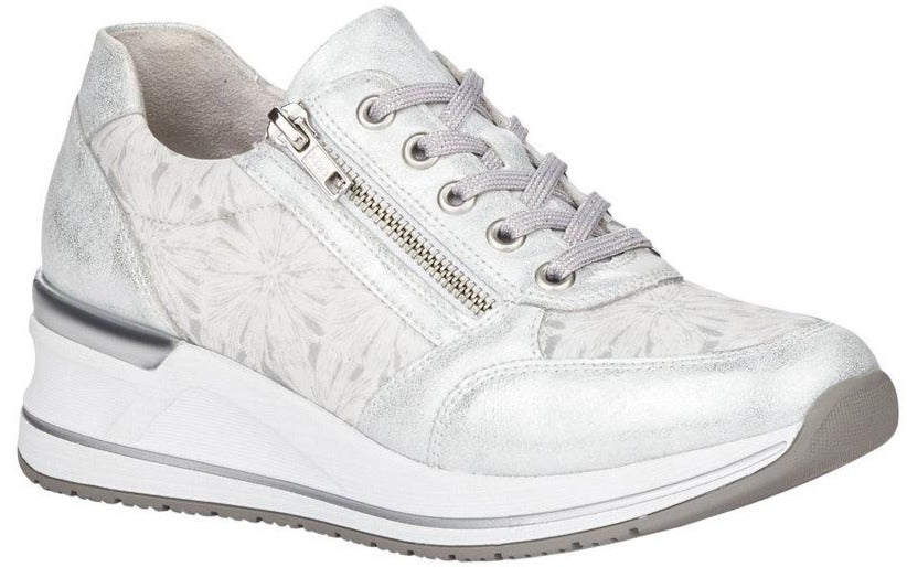 Rieker - D3203 Ice/White Runners
