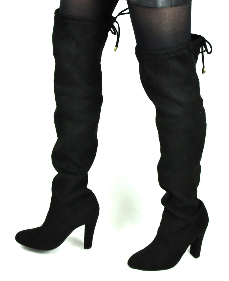 SPM - Black Long Boots
