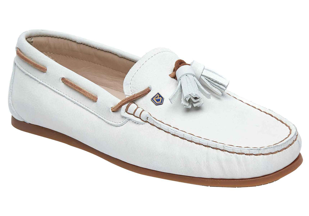 Dubarry - Jamaica Sail White Shoes