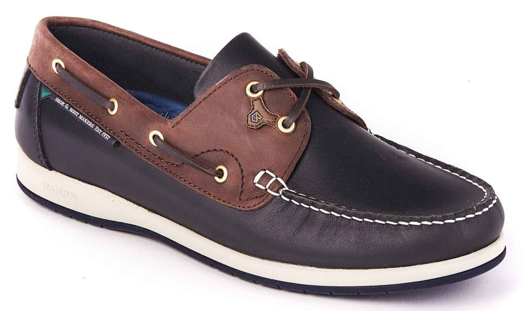 Dubarry - Sailmaker Navy/Brown Shoes
