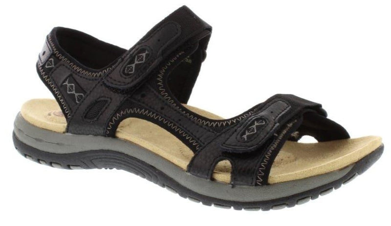 Earth Spirit - Frisco Black Sandals