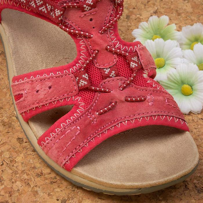 Earth Spirit - Frisco Carnival Red Sandals