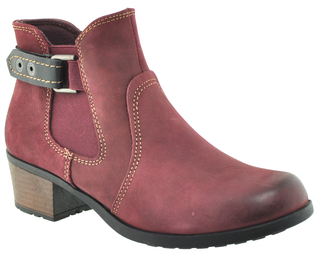 Earth Spirit - El Reno Merlot Ankle Boots