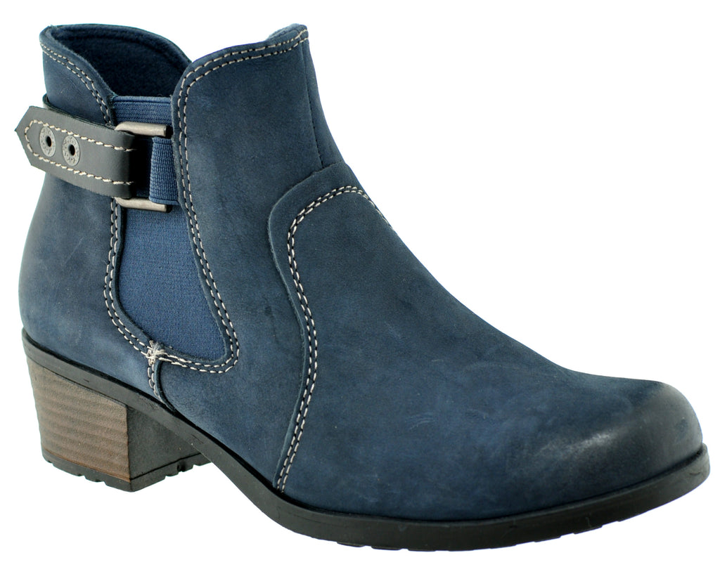 Earth Spirit - El Reno Navy Ankle Boots