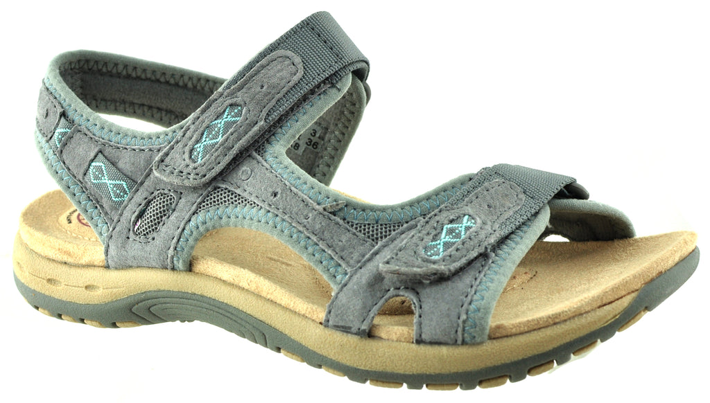 Earth Spirit - Frisco Frost/Grey Sandals