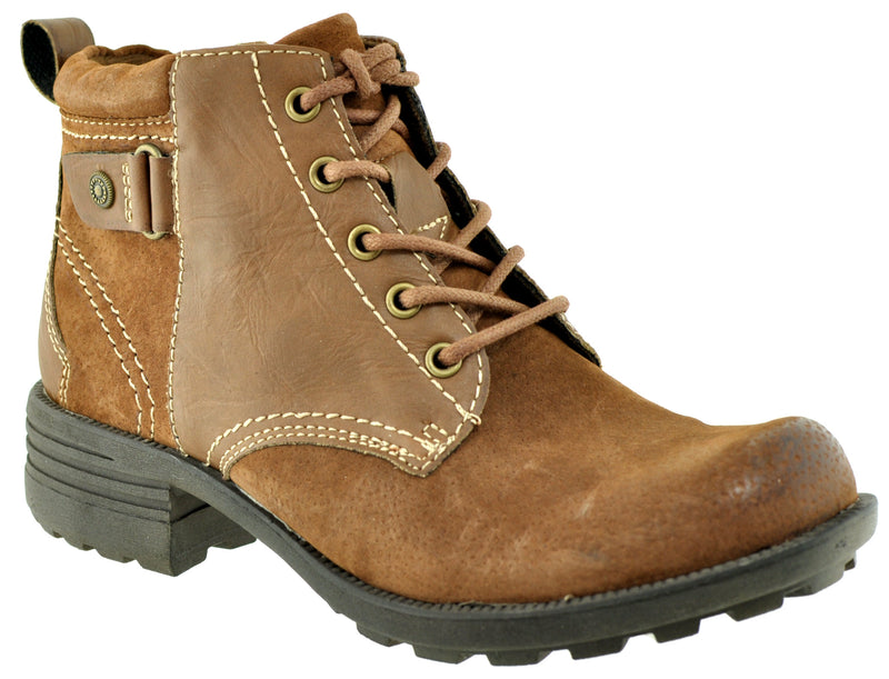 Earth Spirit - Paxton Almond Ankle Boots