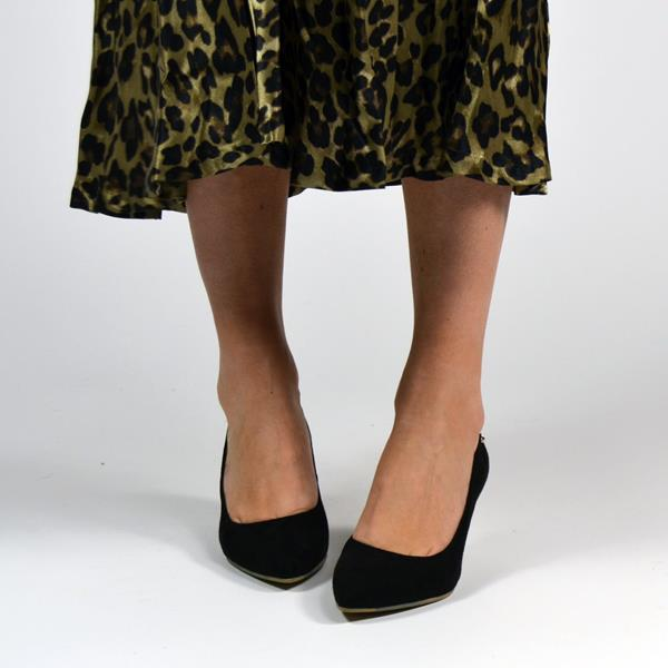 Fabulous Fabs - Black Court Shoes (F42012)