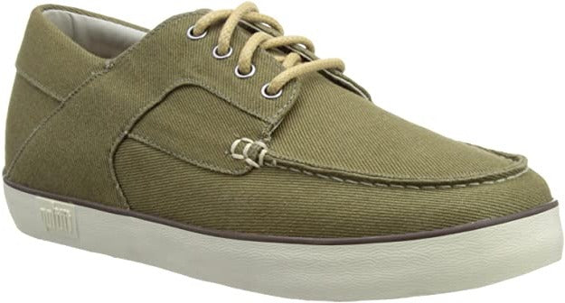 FitFlop - Monty Olive Canvas Shoes