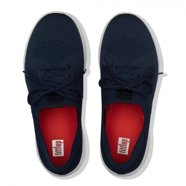 FitFlop - Marble Knit Navy Runners