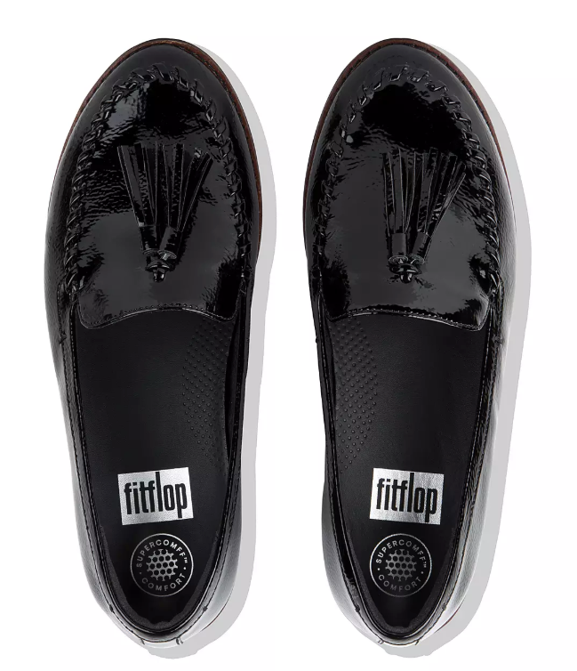 FitFlop - Petrina Loafer Black/Patent