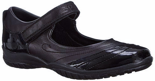 Geox - Shadow Mix Black Shoes (J44A6B)