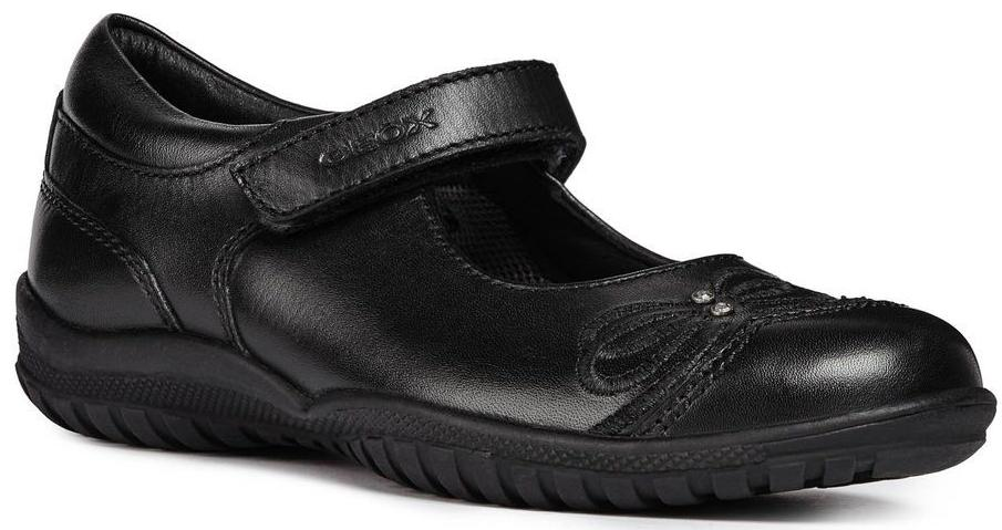 Geox - Shadow Jr. Black Shoes (J84A6C)