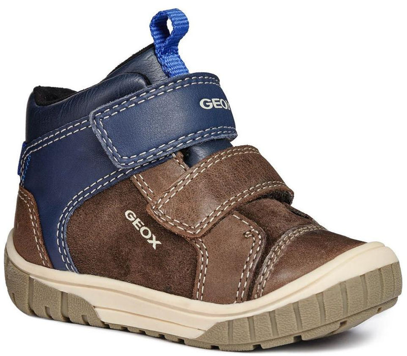Geox - Omar Coffee/Navy Ankle Boots (B84D8B)