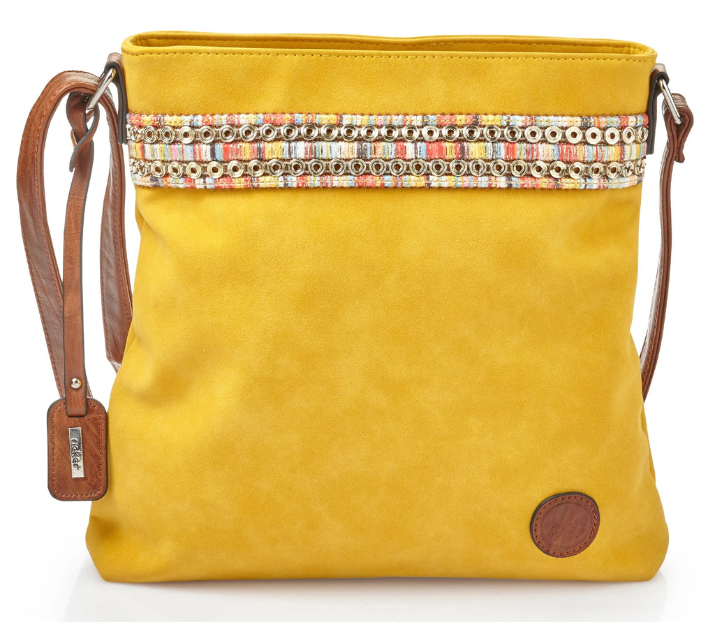 Rieker - H1029 Yellow Handbag