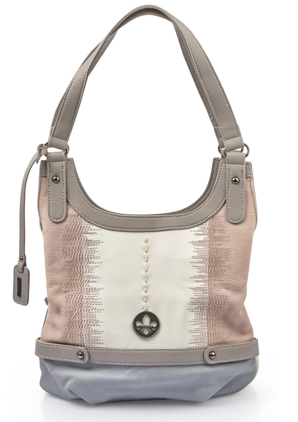 Rieker - H1334 Grey/Rose/White Handbag