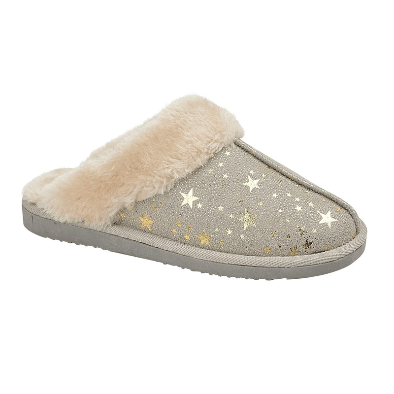 LJ&R - Tiggi Light Grey Slippers