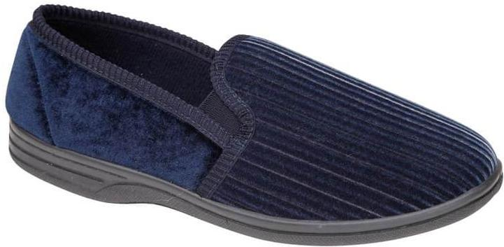 LJ&R - Albert Navy Slippers