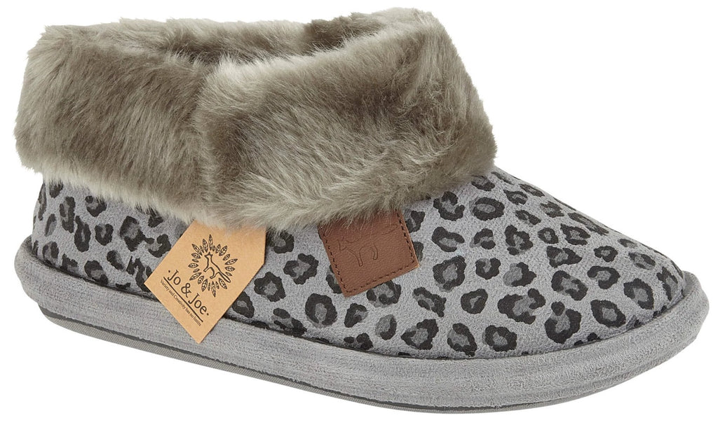 LJ&R - Butterscotch Grey Slippers
