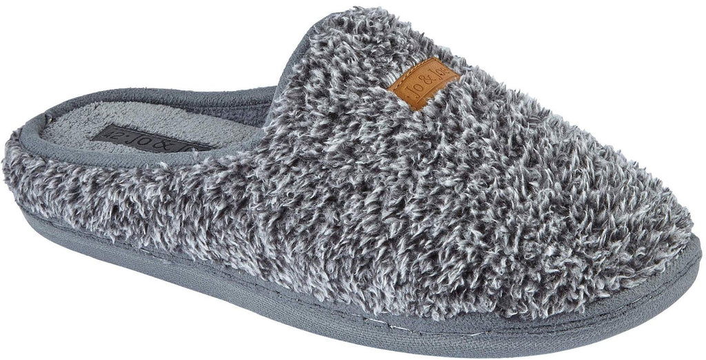 LJ&R - Bordello Dark Grey Slippers