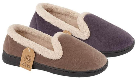 LJ&R - Cashmere Lilac Slippers