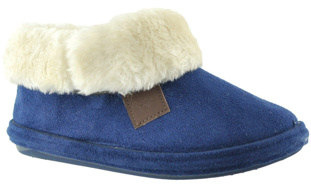 LJ&R - Chiltern Blue Slippers