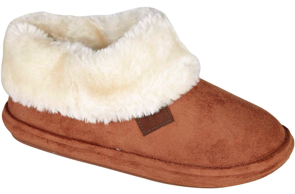 LJ&R - Chiltern Cognac Slippers