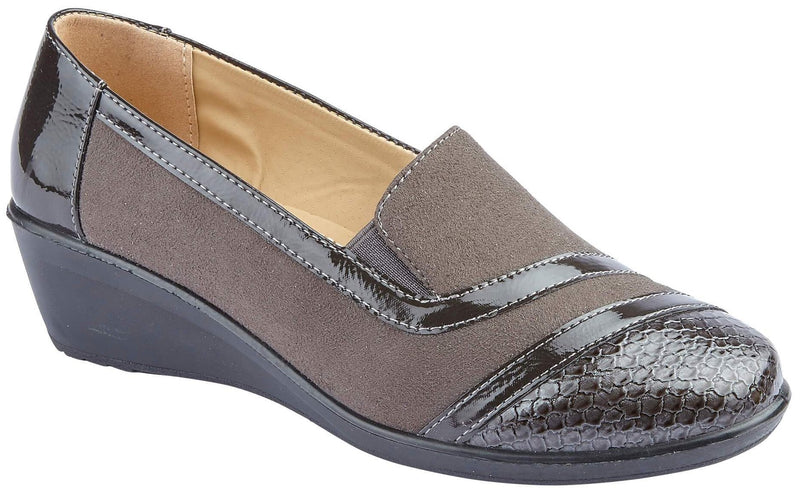 LJ&R - Chrissy Grey Shoes