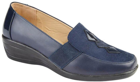 LJ&R - Delia Navy Shoes