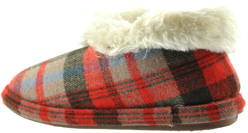 LJ&R - Glenroyal Brown Tartan Slippers
