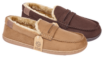 LJ&R - New Hampshire Brown Slippers