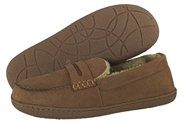LJ&R - New Hampshire Cognac Slippers