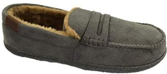 LJ&R - New Hampshire Grey Slippers