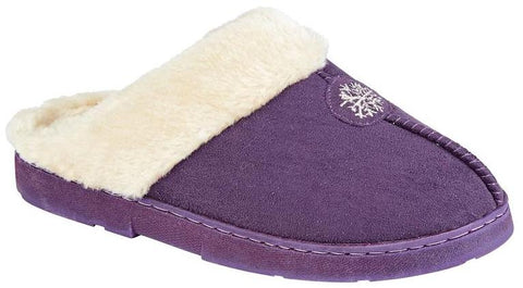 LJ&R - Snuggle Purple Slippers