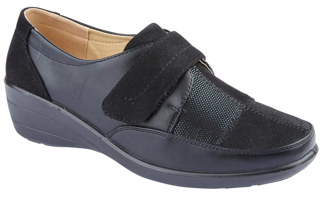 LJ&R - Veronica Black Shoes