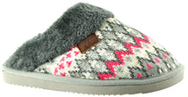 LJ&R - Zany Grey/Pink Slippers