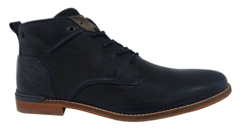 Rieker - F1310 Marron/Navy Lace Boots