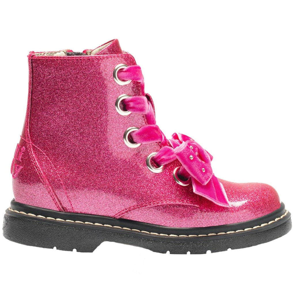 Lelli Kelly - Bow Fuschia Ankle Boots (6522)