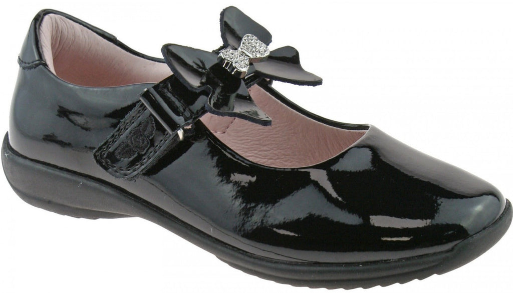 Lelli Kelly - Charlotte Black/Patent Shoes