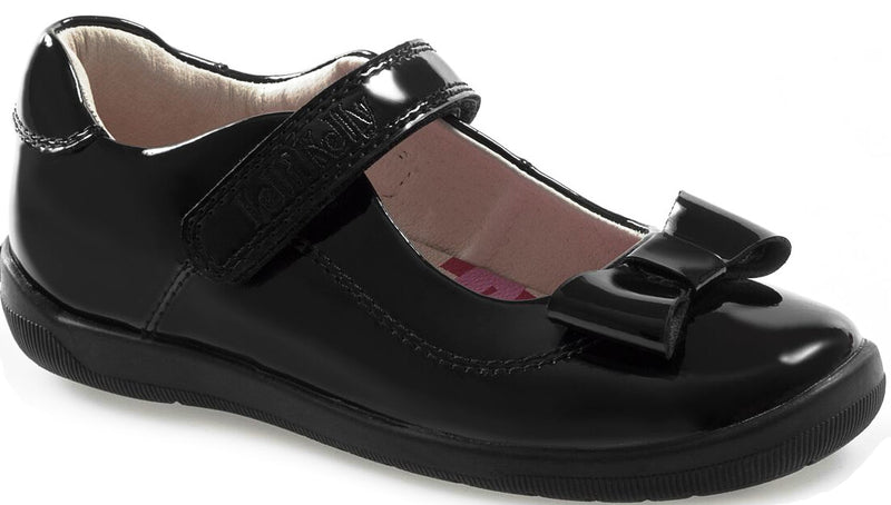 Lelli Kelly - Chloe T-Bar Black Patent Shoes (8250)