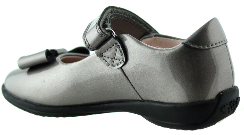Lelli Kelly - Perrie Pewter Patent Shoes (8206)