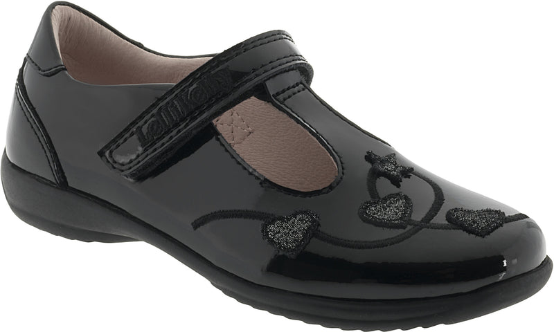 Lelli Kelly - Elsa Black Patent Shoes (8262)
