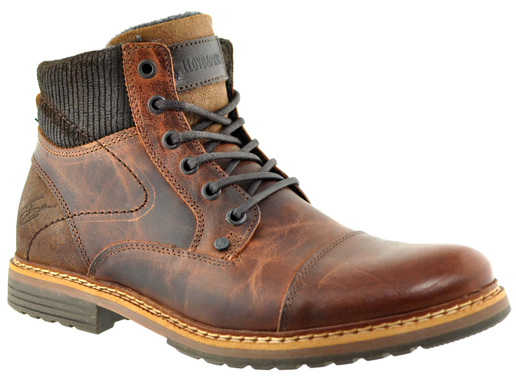 Lloyd & Pryce - Williams Chestnut Boots