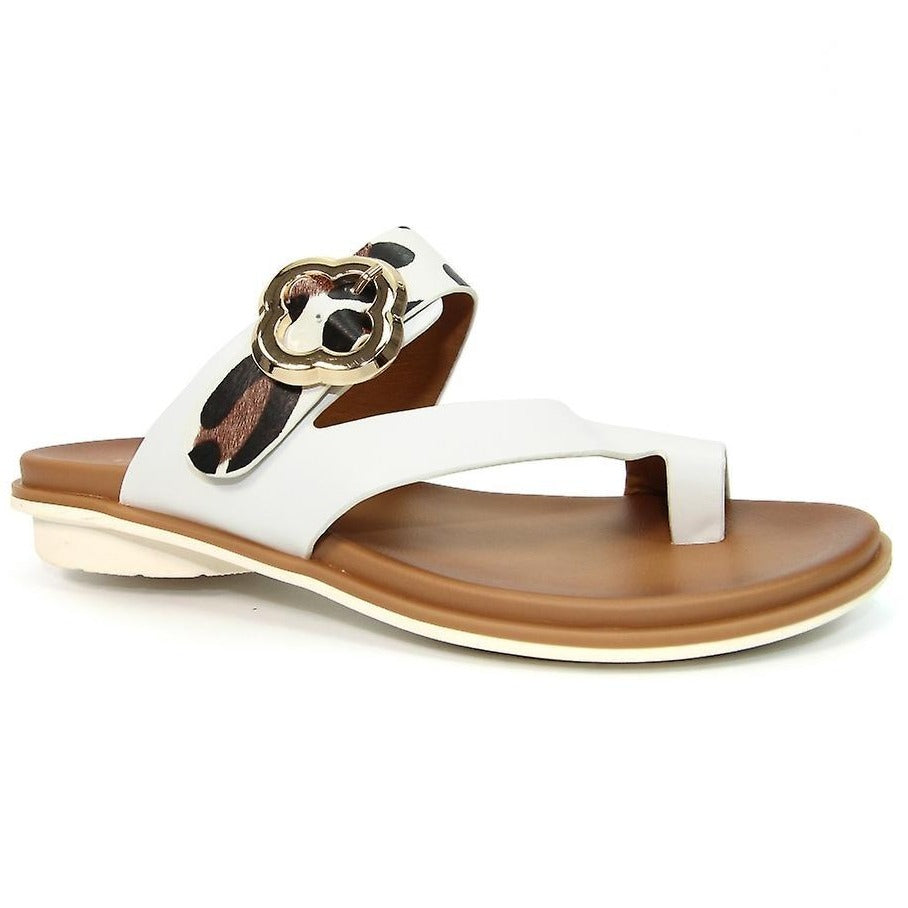 Lunar - Larkin White Sandals