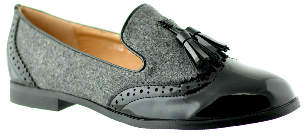 Lunar - Francine Grey/Black Shoes