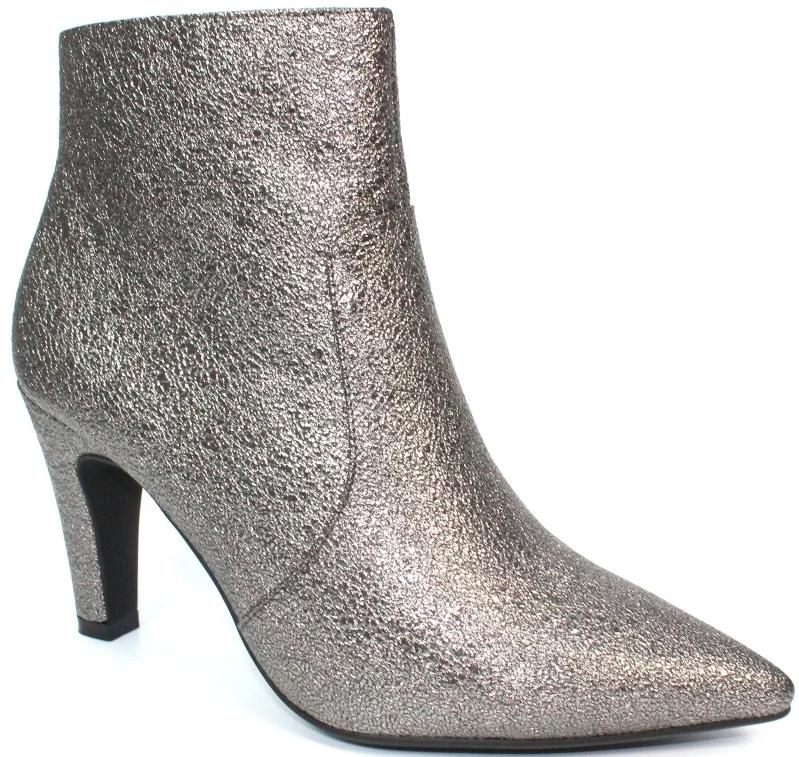 Lunar - Gala Pewter Ankle Boots
