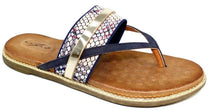 Lunar - Grayson Blue Sandals