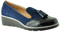 Lunar - Karina Blue/Black Shoes