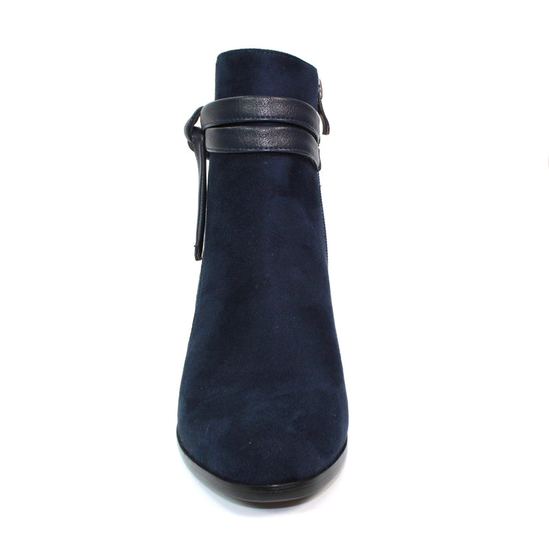 Lunar - Lowe Navy Ankle Boots