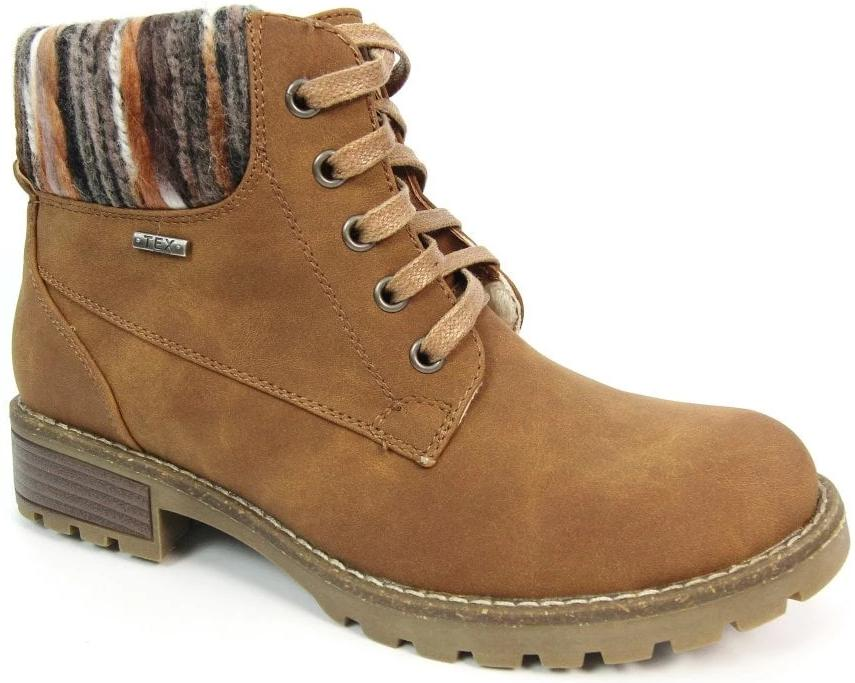 Lunar - Malone Tan Ankle Boots